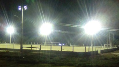 Iluminação do Campo São José em Ibirubá/RS